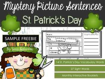 FREE Interactive Activity Booklets {Mystery Picture Senten