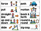 FREE K-1st Science Motion and Movement Cards