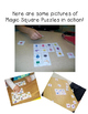 FREE K-6th Grade Differentiated Magic Square Puzzles Sampler