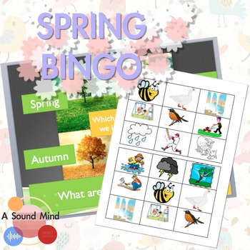 FREE LESSON: Spring Bingo