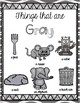 FREE Learning My Colors {gray}