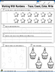 FREE-Learning Numbers 1-12 Integrated Morning Worksheets-F