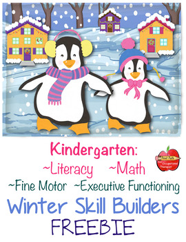 FREE Literacy, Math, Fine-Motor, Executive Functioning: Wi