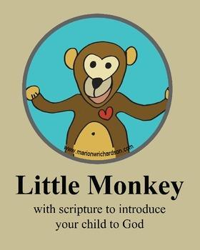 FREE: Little Monkey Christian Children's Book: Bulletin Bo