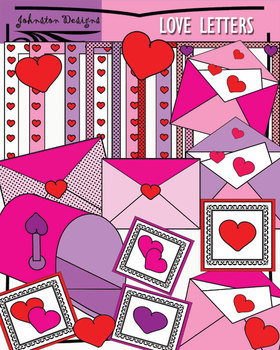 FREE Love Letter Clipart