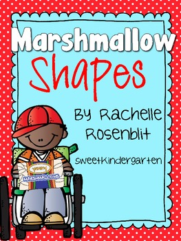 *FREE* Marshmallow Shapes! {Shape Building}