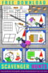 FREE Fractions Task Cards for 3rd Grade Math Center Games