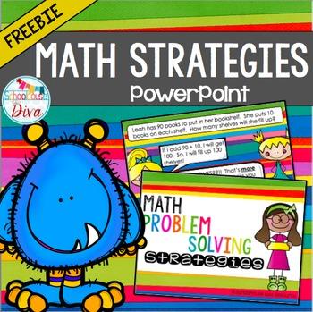 FREE Math Strategies PowerPoint