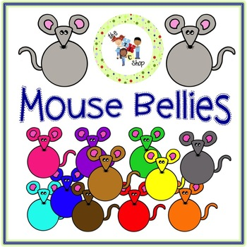 FREE! Mouse Bellies Clip Art Set