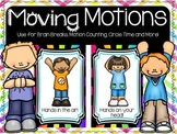 FREE Movement and Motion Cards!