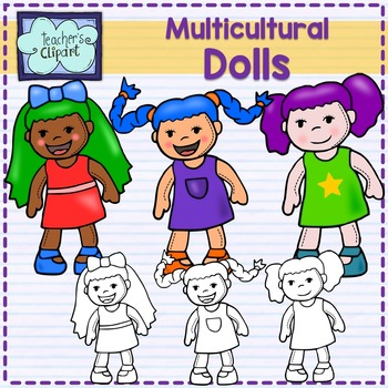 FREE Multicultural Dolls