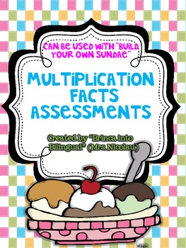 FREE Multiplication Fact Tests
