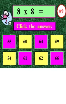 FREE Multiplication Facts PowerPoint One PREVIEW