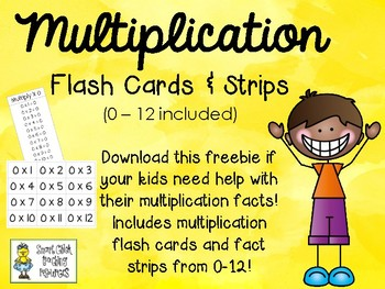 multiplication facts 0-12 pdf