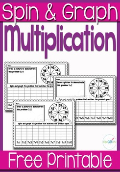 FREE Multiplication Spin & Graph Sheets