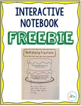 {FREE} Multiplying Fractions - Interactive Notes