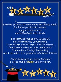 {FREE} My Poetry Promise: Introducing Poetry as Magic
