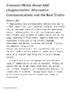 FREE: Myths of Augmentative Communication; a Resource for