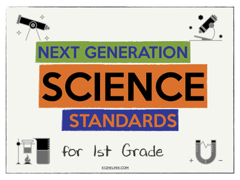 FREE: Next Generation Science Standards (NGSS) Posters for