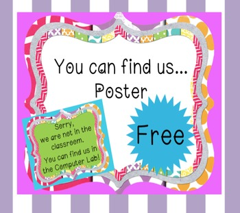 *FREE* ~ Back to School - 'Not in the classroom! You can f