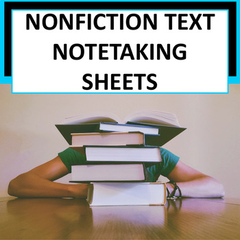 {FREE} Note-Taking Sheets for Upper Elementary & Middle Sc