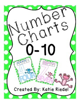 FREE - Number Charts 0-10