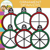 FREE - Ornament Spinners Clip Art