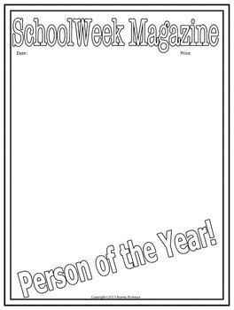 """FREE """"PERSON OF THE YEAR""""  MAGAZINE COVER FOR ALL-PURPOSE"""