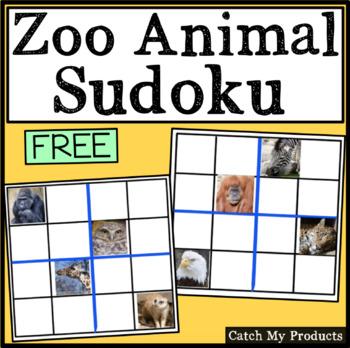 FREE PRODUCT: Zoo Animal Sudoku