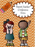 FREE Parent-Teacher Conference Form (Primary)