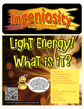 FREE Partial preview Ingeniosity: Light Energy
