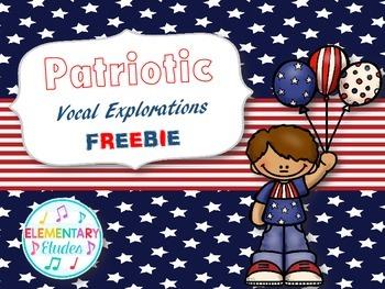 FREE - Patriotic Vocal Explorations Sample