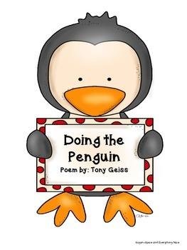 FREE Penguin Poem- Doing the Penguin