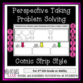 FREE!  Perspective Taking and Problem Solving Comic Strip
