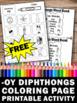 FREE Phonics Diphthongs Worksheets for 1st Grade ESL Liter