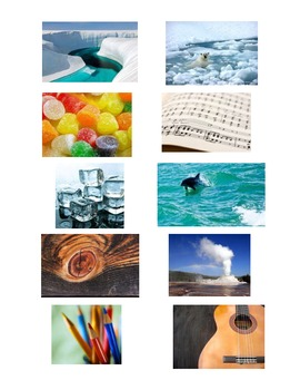 FREE Physical Property and Matter Sort Activity Cards PRINTABLE