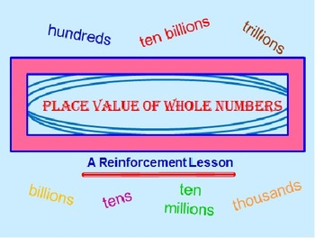 FREE Place Value Powerpoint PREVIEW