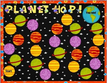 FREE Planet Hop Board Game oy oi sound