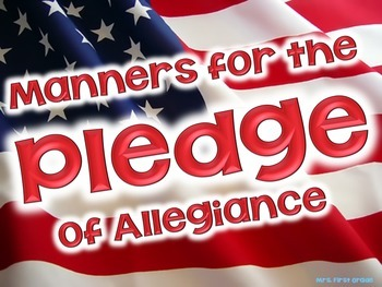 """FREE """"Pledge Manners"""" Posters"""