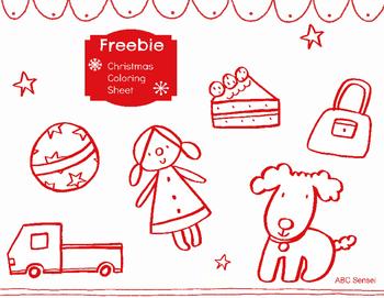 FREE Printable Christmas Coloring Sheet!