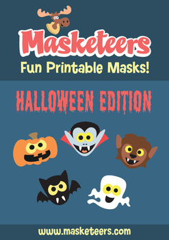 FREE Printable Halloween Masks!