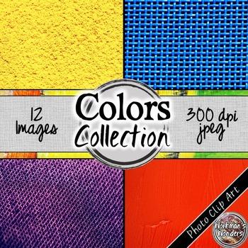 Photo Clip Art (12 Images/4 Sizes) - Colors