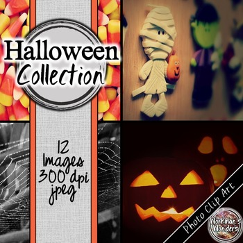 Photo Clip Art (12 Images/4 Sizes) - Halloween