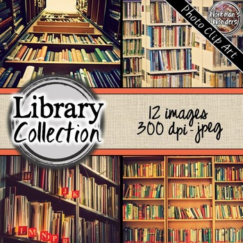 Photo Clip Art (12 Images/4 Sizes) - Library