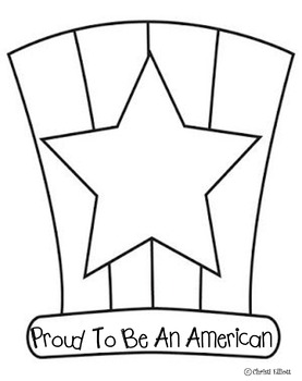 FREE Proud to be an American hat or page