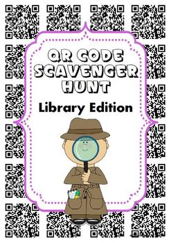 QR Code Hunt - Library Edition