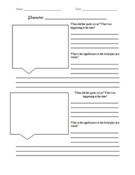 Artwork analysis worksheet