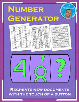 FREE Random Number Generator - Millions of Numbers for Pla