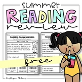 FREE Reading Comprehension Passages - Summer Review