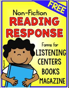 Reading Response Non-fiction Magazine FREE